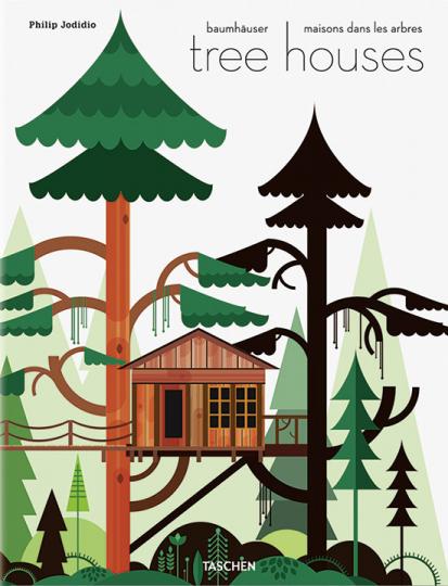 Baumhäuser. Märchenschlösser, die in den Himmel wachsen.