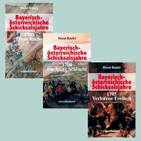 Bayerische österreichische Schicksalsjahre, 3 Bände