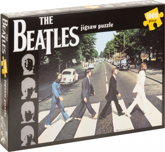 Beatles »Abbey Road«-Puzzle. 1000 Teile.