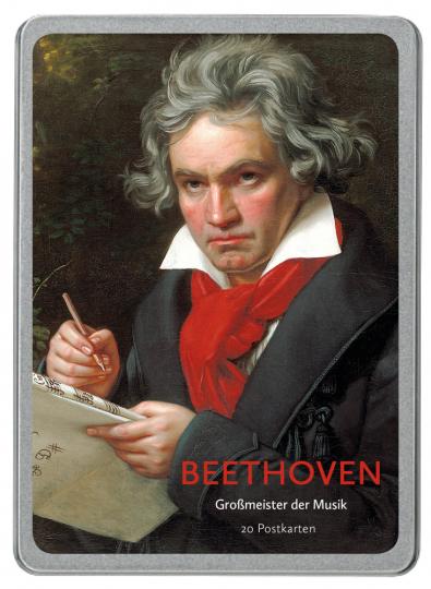 Beethoven. Großmeister der Musik. 20 Postkarten.