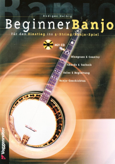 Beginner Banjo, mit CD