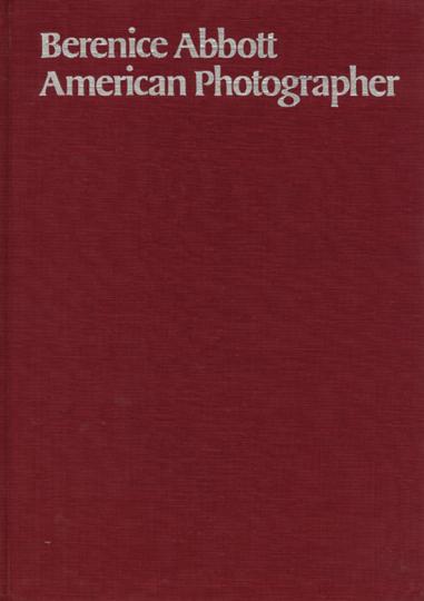 Berenice Abbott. American Photographer. Signiert und nummeriert.