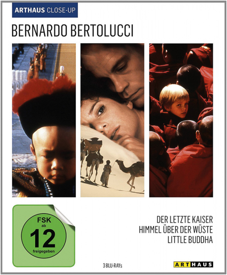 Bernardo Bertolucci. Arthaus Close-Up. Drei Filme in einer Box. 3 Blu-rays.