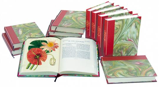 Bertuchs Bilderbuch für Kinder, 12 edle Halbleinenbände - Reprint der Originalausgabe