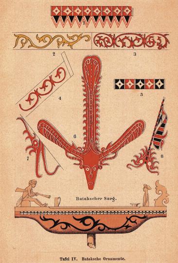 Besuch bei den Kannibalen Sumatras. Reprint.