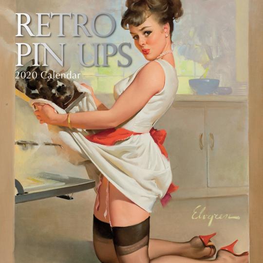 Bezaubernde Retro Pin-Ups. Wandkalender 2020.