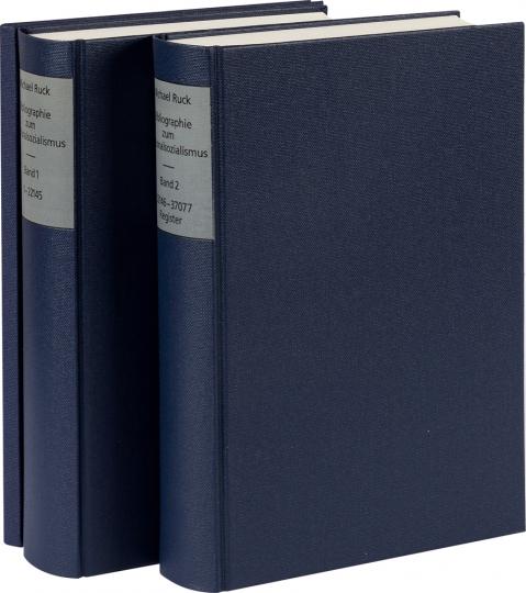 Bibliographie zum Nationalsozialismus. 2 Bände plus CD-Rom.