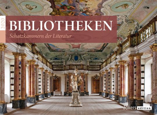 Bibliotheken 2020. Wandkalender.
