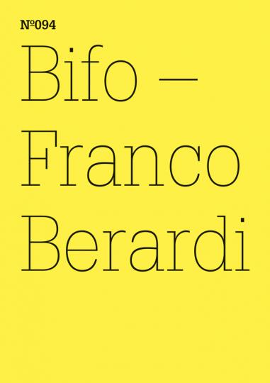 Bifo - Franco Berardi. transversal. dOCUMENTA (13).