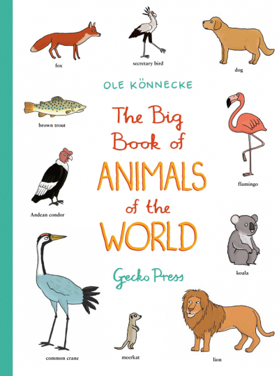Big Book of Animals of the World.
