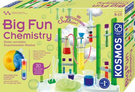Big Fun Chemistry. Deine verrückte Experimentierstation.