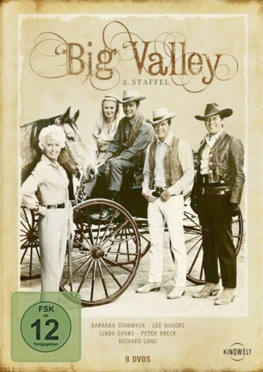 Big Valley 2. Staffel 8 DVD