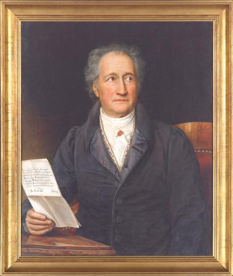 Bildnis Johann Wolfgang von Goethe, 1828. Joseph Karl Stieler (1781-1858)