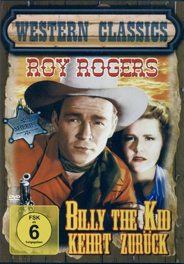 Billy the Kid kehrt zurück DVD