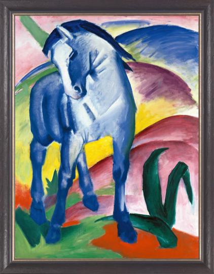 Blaues Pferd I. Franz Marc (1880-1916).