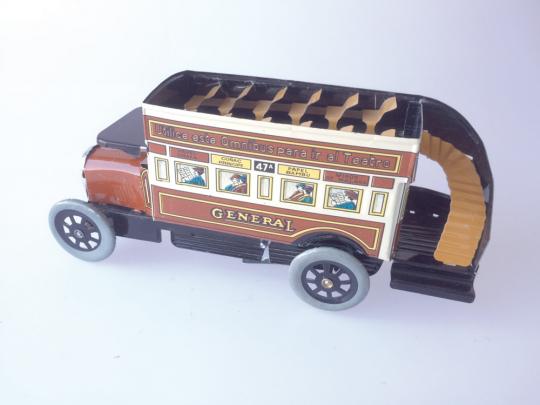 Blechspielzeug Omnibus.