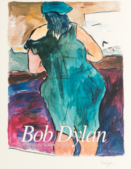 Bob Dylan. The Drawn Blank Series.