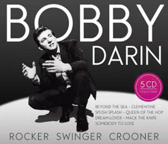 Bobby Darin. Rocker, Swinger, Crooner. 5 CDs.