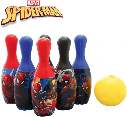 Bowling-Set Spider-Man.