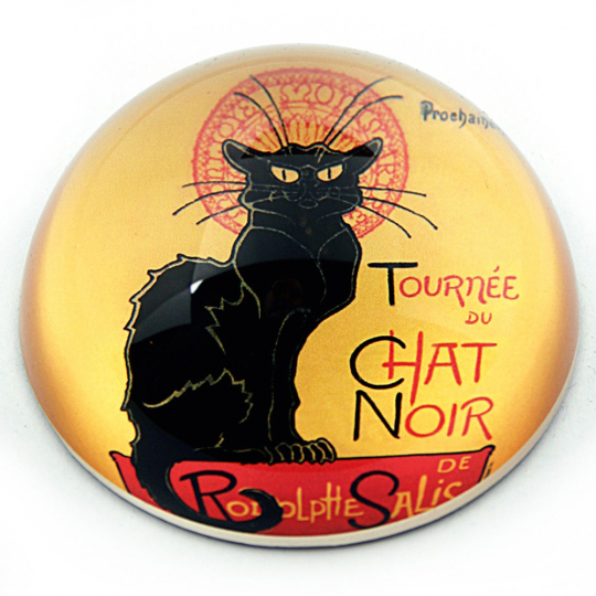 Briefbeschwerer Steinlen »Le Chat Noir«.