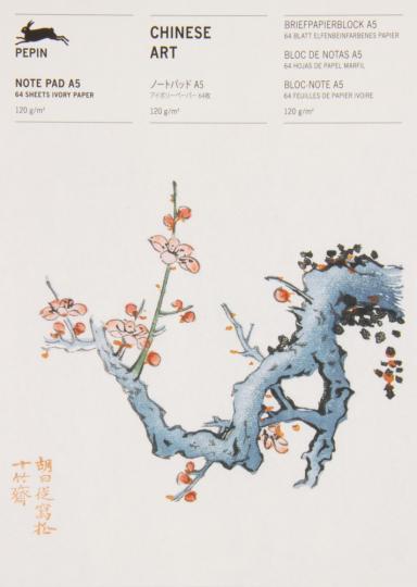 Briefpapierblock »Chinesische Kunst«. DIN A5.