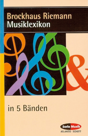Brockhaus Riemann Musiklexikon. 5 Bd.