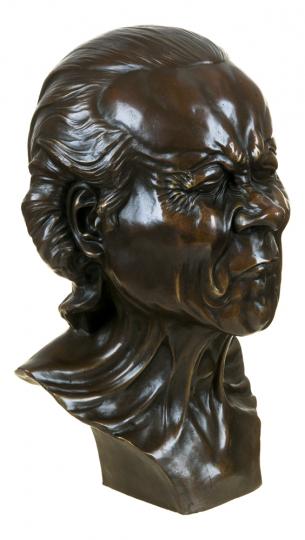 Bronzebüste Franz Xaver Messerschmidt »Ein Charakterkopf«.