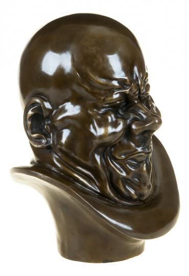 Bronzebüste Franz Xaver Messerschmidt »Ein Erzbösewicht«.