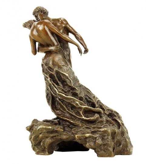 Bronzefigur Camille Claudel »Der Walzer«.