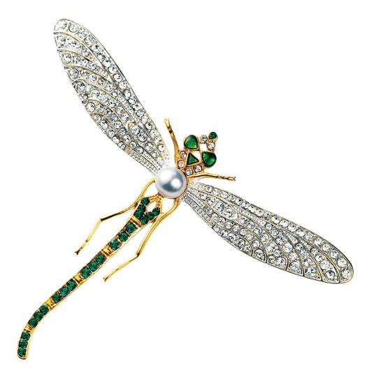 Brosche »Libelle«.