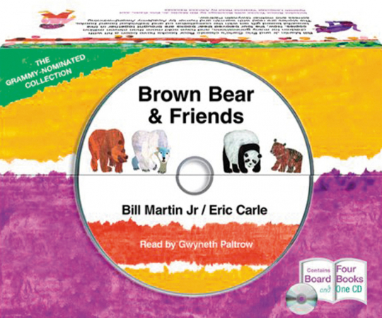 Brown Bear and Friends. Pappbücher und CD im Set.