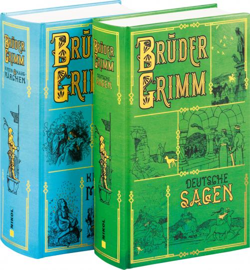 Brüder Grimm. Märchen und Sagen. 2 Bände.