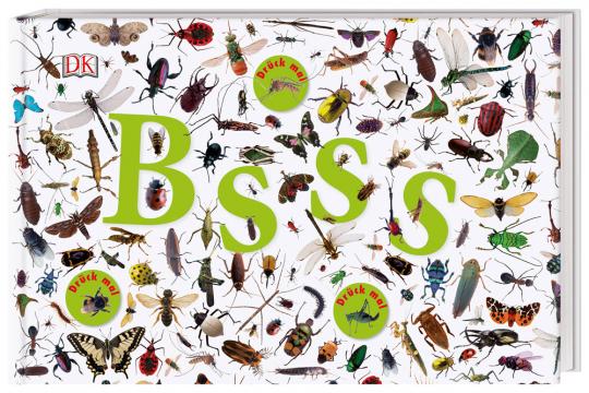Bsss. Die ganze Welt der Insekten. Mit Sound-Chips im Cover.