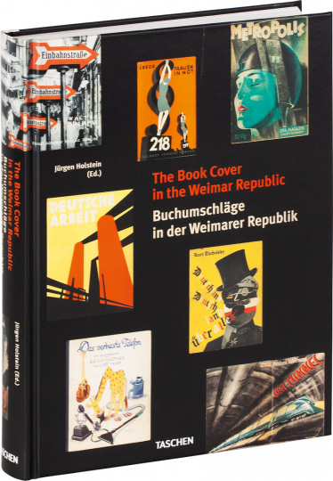 Buchumschläge in der Weimarer Republik. Book Covers in the Weimar Republic.