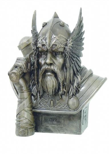 Büsten Germanische Götter Donnergott Thor