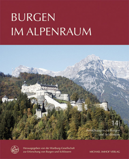Burgen im Alpenraum.