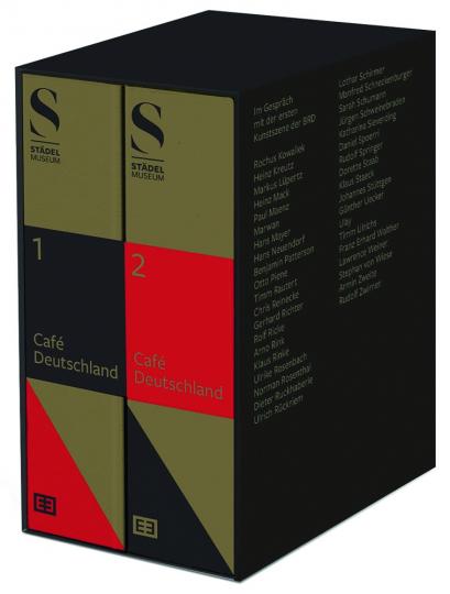 Café Deutschland. Im Gespräch mit der ersten Kunstszene der BRD 1960-1989.