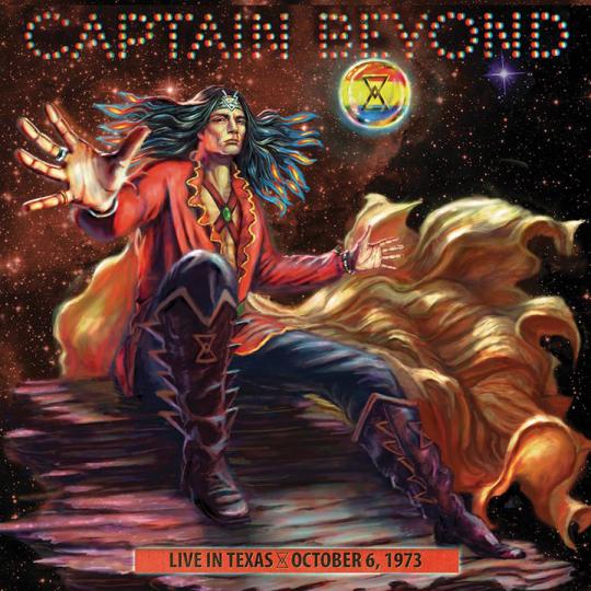 Captain Beyond. Live in Texas: October 6, 1973. Vinyl LP.