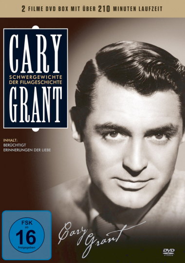 Cary Grant Box. 2 DVDs.