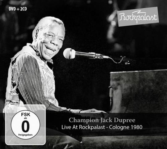 Champion Jack Dupree. Live At Rockpalast 1980. 2 CDs & DVD.