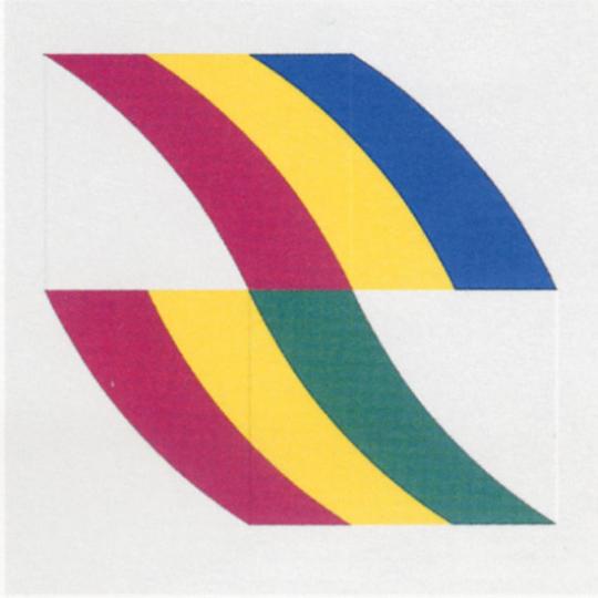 Charles Hinman. Flaggen 1970, Blatt 1.