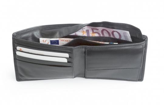 Chevirex Geheimfach-Geldbörse.