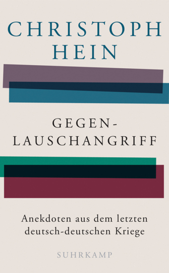 Christoph Hein. Gegenlauschangriff. Anekdoten aus dem letzten deutsch-deutschen Kriege.