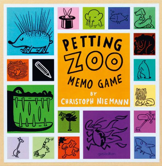 Christoph Niemann - Petting Zoo Memo Game.