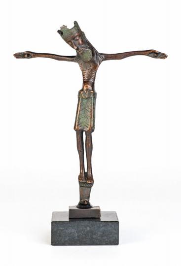 Christus mit Krone. Nordeuropa, um 1150.