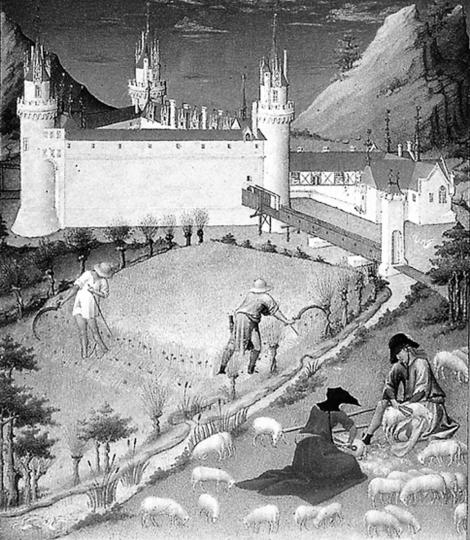 Chronos: die Zeit in der Kunst des Mittelalters.