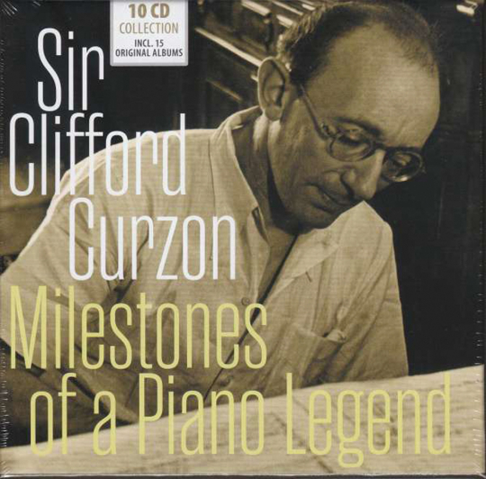 Clifford Curzon. Milestones of a Piano Legend. 10 CDs.