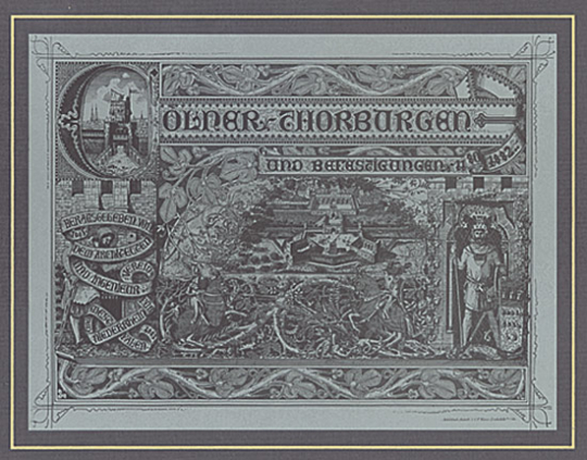 Cölner Thorburgen 1180-1833