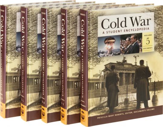 Cold War. A Student Encyclopedia. 5 Bände.
