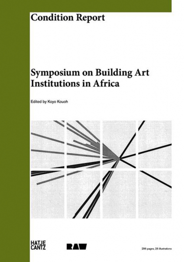 Condition Report. Symposium on Building Art Institutions in Africa.